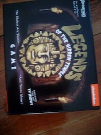 Legends of the hidden temple.Never used, opened but didn't play. Scotia
