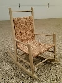 Antique child's rocking chair Waverly fabric  Phoenixville, 19460