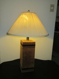 Table lamp with shade Burlington