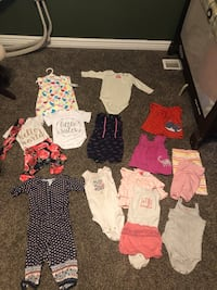 9-12 month baby girl clothes  West Valley City, 84120