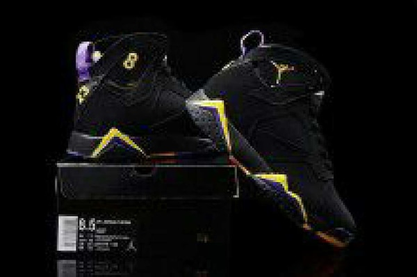 Used Air Jordan 7 KOBE Lakers Away Pe for sale in Lithonia - letgo b06e5194a