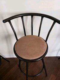 Bar stool / chair with supporting back