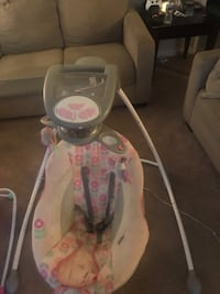 baby's white and pink cradle n swing Ashburn, 20147