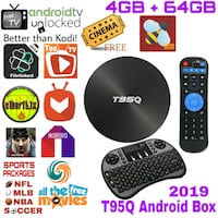 T95Q Android TV Box with Keyboard Touchpad  Wilmington Manor, 19720