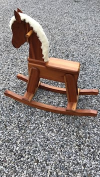 Child wooden rocking horse Milton, L0P 1B0