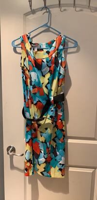 Women's multicolored floral sleeveless dress from dress Barn size 12 Pembroke Pines, 33025