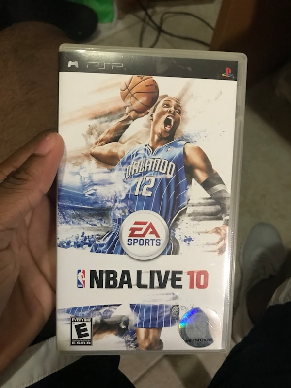 0df3add6fbbfb0 Used NBA live 10 Sony PSP game case for sale in Opa Locka - letgo
