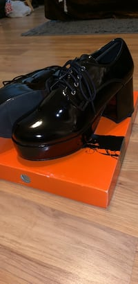 Disco shoes. Size small (8/9). Worn once and still in box. Outside maybe 5 minutes   Spring, 77379