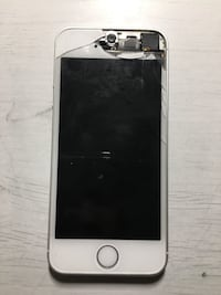 (FOR PARTS ONLY)Grey Iphone SE