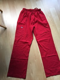 Ladies scrub pants by Uni-Trend, red, XL - $15 Mississauga, L5M 7S4