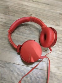 Sony super bass red headphones Edmonton, T6T 0V1