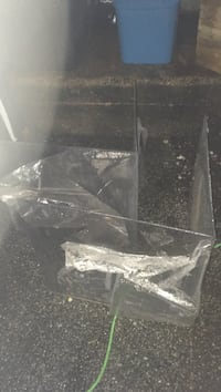 Corner plexiglass approximately 2' x 2' x 2' 3/16 of an inch to 1/4 thick new Sparrows Point, 21219