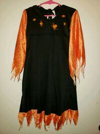 Children's Witch Costume Dress with Spiders 5/6 Queen Creek, 85142