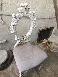 White french chair frames fabulous set of six need to be recovered Los Angeles, 90038