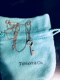 Tiffany & Co. Sterling Silver Necklace Washington, 20024