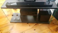 black and gray TV stand Silver Spring, 20904