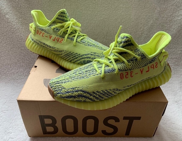 """47a3905e204c0 Used Adidas Yeezy Boost 350 V2 """"Semi Frozen Yellow"""" - Brand New Never Used  Men s Shoes - Size 10 and 11 for sale - letgo"""