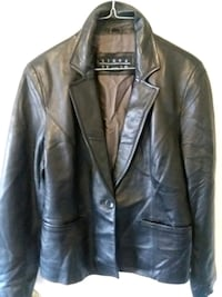 brown leather button-up jacket Hyattsville, 20783