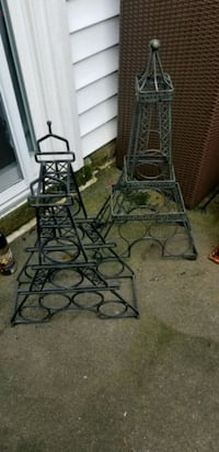 Wine racks (2) TWO Eiffel Tower design  Centreville, 20121