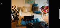 White couch very good condition Burnaby, V5H 2J8