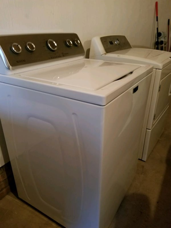 Maytag washer and gas dryer  3