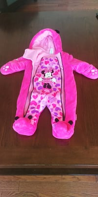 6-12 Months Minnie Mouse Full Winter Suit Oshawa