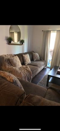 Brown couches. Loveseat and sofa Henderson, 89011