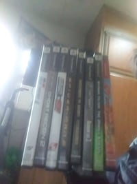 A lot of 8 PS2 games