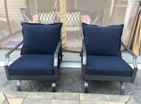 Set of Metal Patio/Porch Chairs Raleigh, 27616
