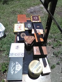assorted home decors with boxes TITUSVILLE