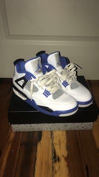 pair of Air Jordan 4 Motorsport Concord, 28025