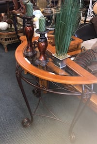 Brown wooden table with two chairs Kissimmee, 34741