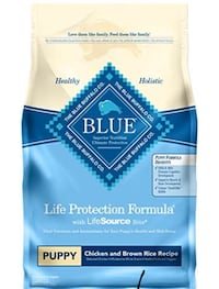 Blue puppy dog food-never been used Toronto, M9R 5K7
