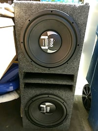 "600W ""12's in enclosure Westland, 48185"
