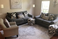 Couch, loveseat and chair (5 pieces set!!) Fairfax, 22030