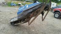 blue and gray Kawasaki snowmobile Hobart, 46342