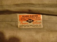 7 foot Horrocks Glass Castor Rod great for open water for serious fishing ASTON