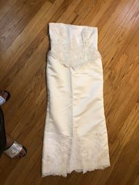 Wedding dress size 16 best offer pick up only