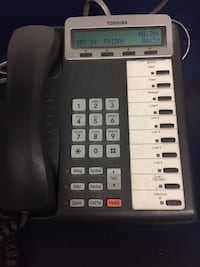 Office phone system.  6 phones and one headset Hampton, 23669
