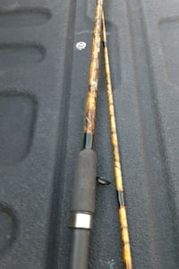 Camouflage 6ft spinning rod