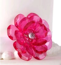 Brand New Flower Buttons for Crafting and Cake Decor