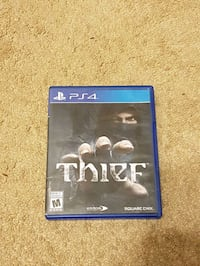Sony PS4 Thief game case Lowbanks, N0A 1K0