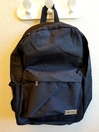 NEW Charcoal Gray Backpack