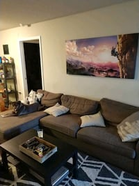 Brown Chaise Lounge Sectional Sofa Orlando, 32825