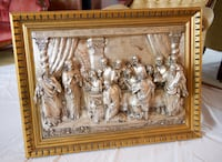 """""""The Last Supper"""" 3D, Metal Relief, Silver Plated Master Piece  Edmonton, T6K 3W9"""
