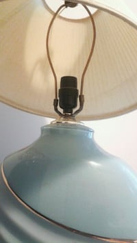 Sky Blue & Gold Lamp Brampton, L7A 0G2