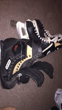 Goalie and player skates for sale need gone  Cambridge, N1R 4L6