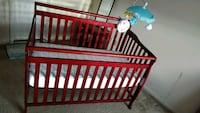 Baby crib + mattress + music n lights crib toy Greenbelt, 20770