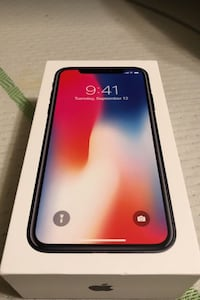 Space gray iphone X plus in box 256 GB Lauderdale Lakes, 33309