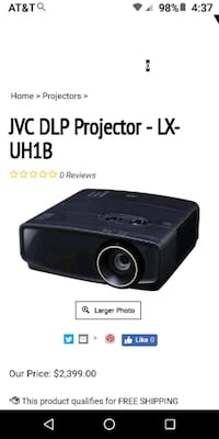 hd projector The LX-UH1 is a high-performance 4K U